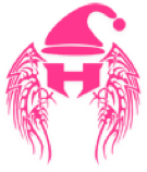 Hebron Silver Wings Drill Team Christmas Logo